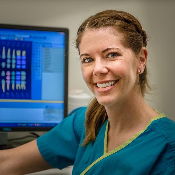 Rachel Oswald, Dental Hygienist of Downtown Dental Design, Austin, TX