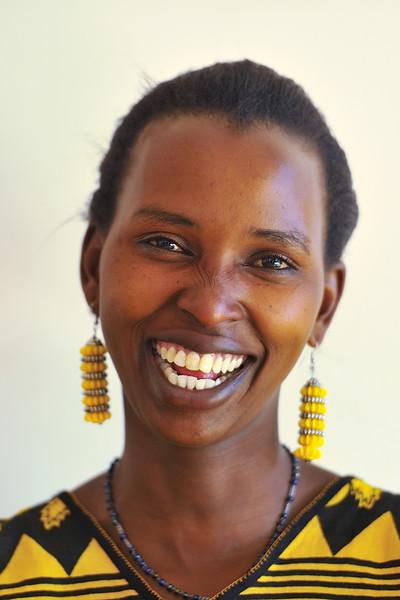 Christina at Gibb's Farm, Tanzania, East Africa