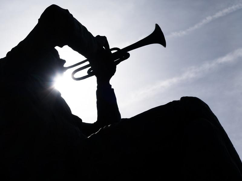 Trumpet Statue