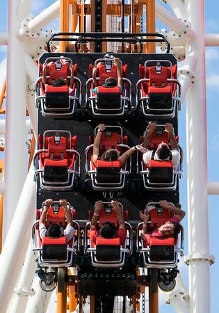 Thunderbolt Roller Coaster Coney Island Brooklyn NY