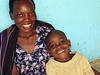 Woman with Aids and son, KCCC, Kampala, Uganda, 2008