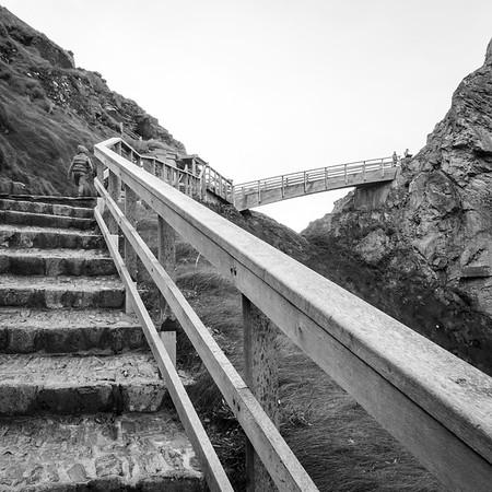 Climb to Tintagel