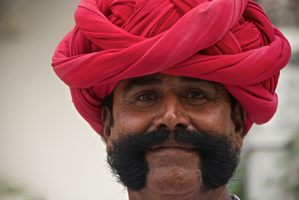 Turbans and moustaches ...