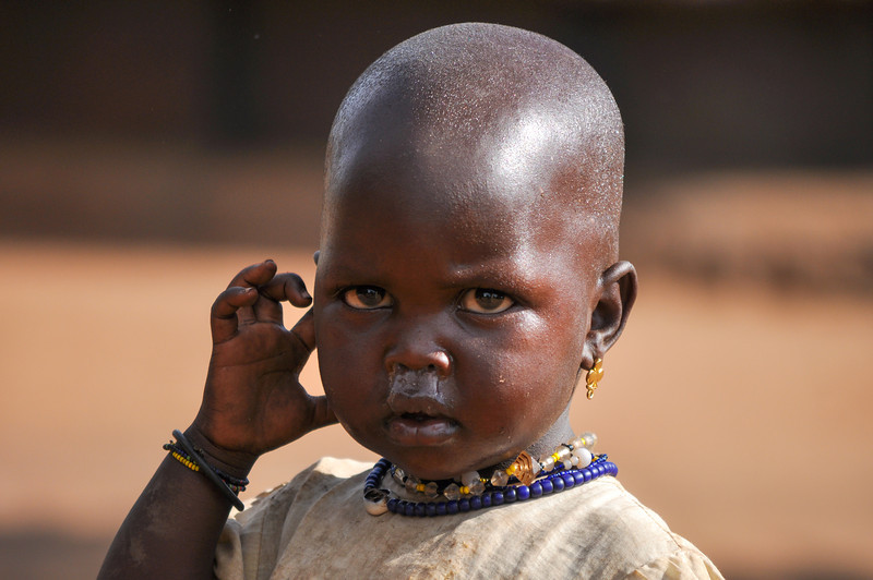 Young Child in Northern Uganda - Kidepo Region