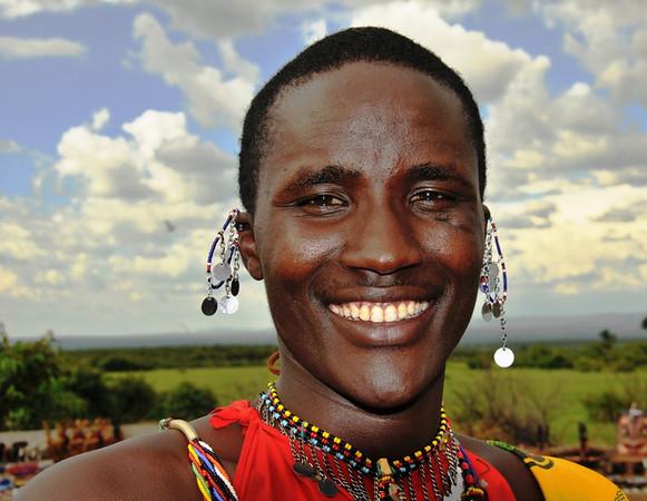 Young Massai Warrior
