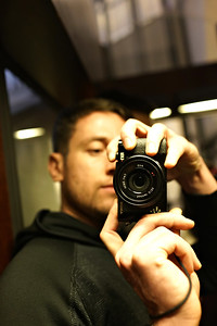 Self with camera