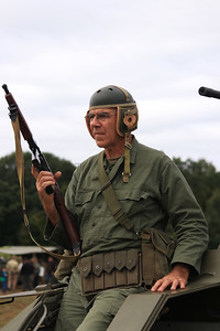 WWII Re-enactor