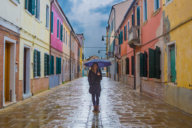 Rainy Day in Murano