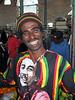 Bob Marley Look a Like, Mombasa, Kenya