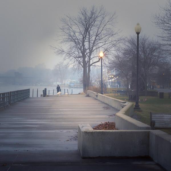 Foggy March Morning