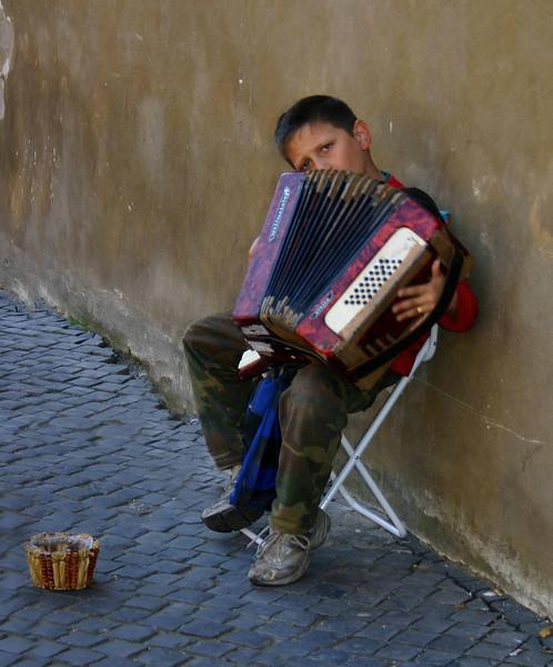 Gypsy Boy Vatican City
