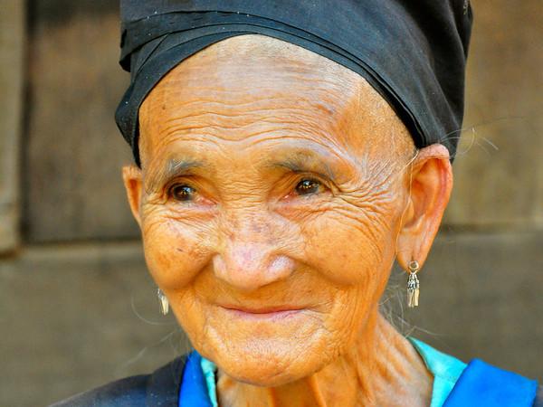 Old woman, Luang Prabang, Laos