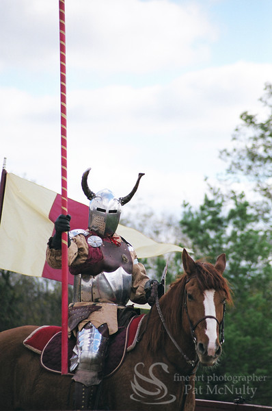 Knight on Horse Photo