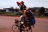 Peddler on Bicycle, Kampala, Uganda