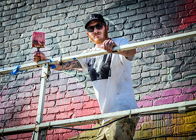 Meggs - mural artist