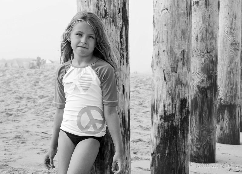 A Girl at the Beach, Ocean Grove, NJ