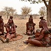 Himba Woman meeting