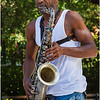 The saxaphone player