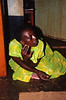 Sister of Woman with AIDS, Mbuya Slum, Kampala, Uganda