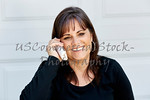 Attractive Woman smiling while on the Phone
