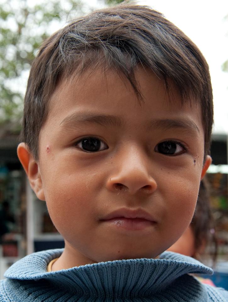 Boy Quito Ecuador