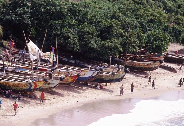 Fishing Boats, Ghana