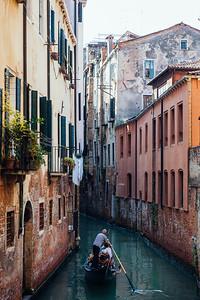 Gondola in Venice - II