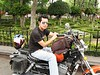 "While walking in a park in Mexico City, I asked this young <br /> ""biker"" to pose for me."