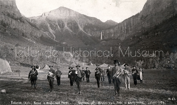 1995-114-07: Telluride Band in Bridal Veil Park