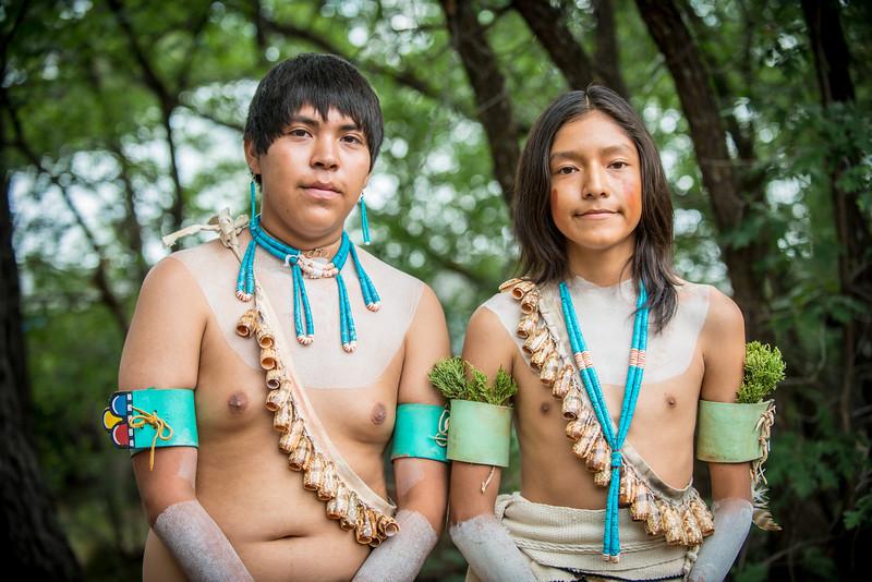 Tsootro Hopi Dance Group portrait by Tony Marinella