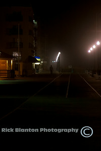 Foggy Night at Rehoboth Beach Boardwalk