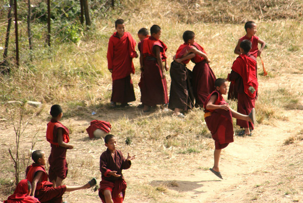 Playing monks