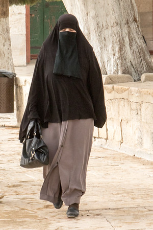 Temple Mount worshipper
