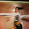 Dancer at Makye Ame Tibetan Restaurant in Beijing, China