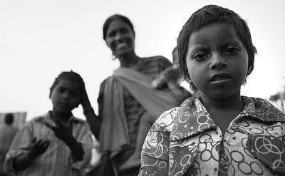 Homeless, India
