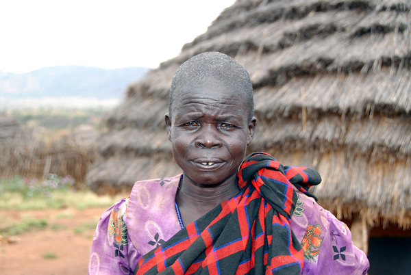 Karamajon Woman in Kidepo Village, Uganda, 2008
