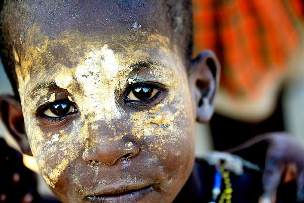 Aerbore boy, Omo Valley, Ethiopia