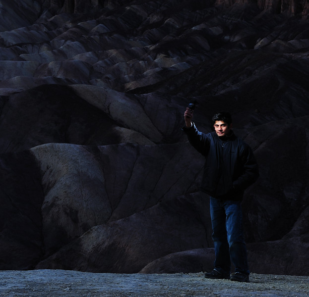 Self-Portrait, Death Valley