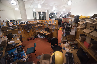 MIT Labs at Night