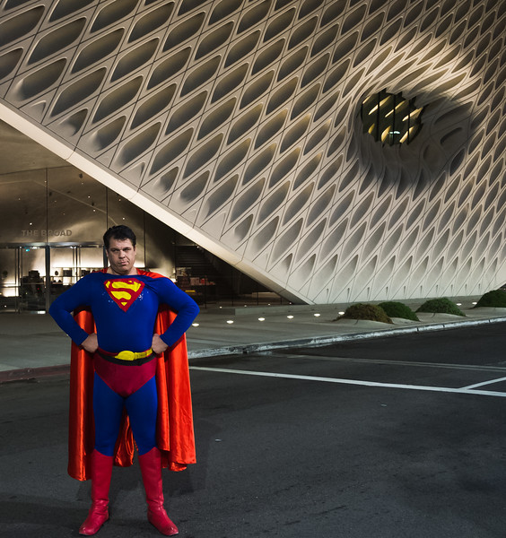 Superman at the Museum