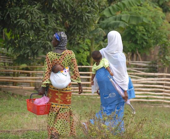 Two Women and Babies, Hohoe, Ghana