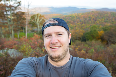 Shenandoah Serious Selfie