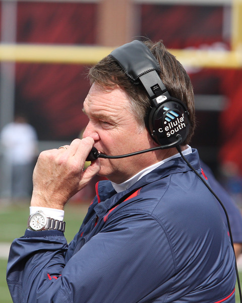 Coach Houston Nutt