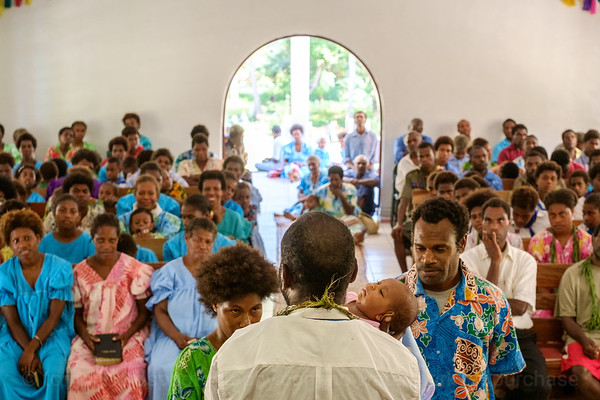 Vanuatu, Tanna, Ailil, Baptism