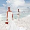 beach wedding photography; bridal photo;