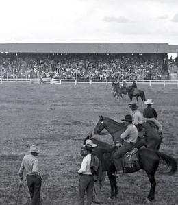 1930s rodeo. Possibly Monte Vista, Colorado.
