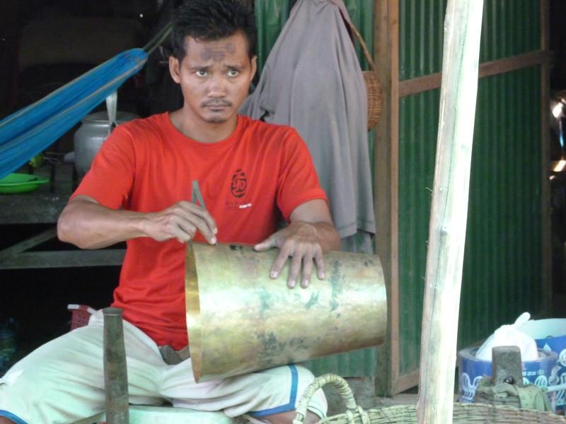 Local village artist