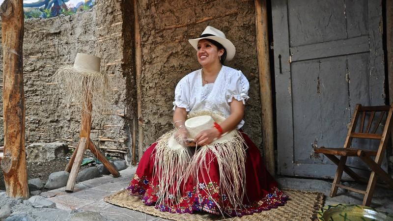 Cuenca - Panama hat
