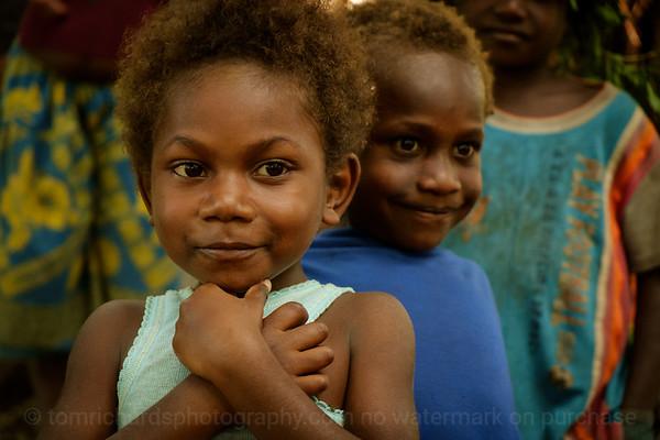 Vanuatu, Tanna, Yamenkarau, Girl