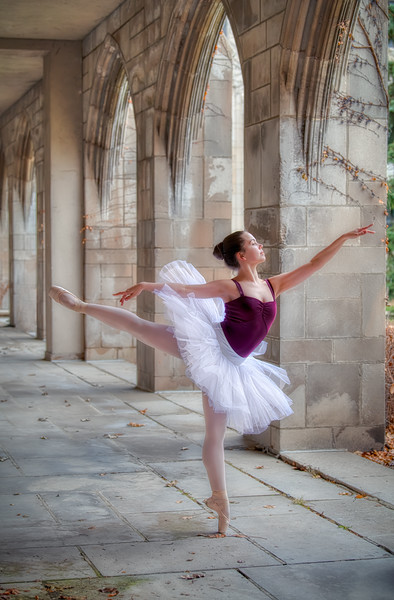 Balerina in the Arches